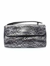 NWT authentic FURLA faux python embossed Leather Top Handle FLAP handbag CLUTCH