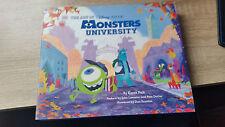 The Art of Monsters University Signed autographed Disney Pixar