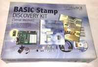 PARALLAX Basic Stamp Discovery Kit (Serial Version) #27207