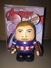 "Captain America No Mask VARIANT 3"" Vinylmation Marvel Series #3 Avengers Ultron"