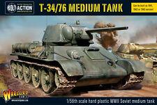 Warlord Games Bolt Action Soviet T34/76 Medium Tank WGB-402014007