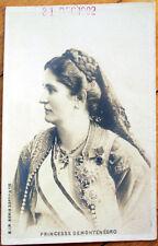 1902 Montenegro Realphoto Postcard: Princesse Militza de Monténégro