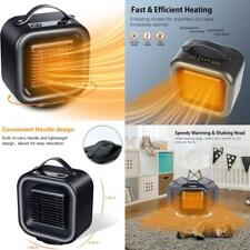 Portable Electric Space Heater - Ceramic Heater Energy Efficient, Fast Heating C
