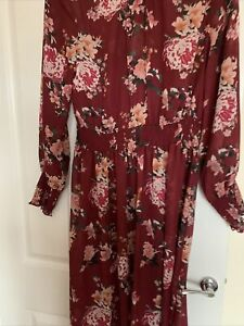 Anthology chiffon dress size 16