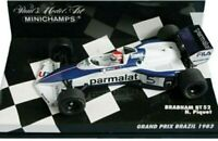 MINICHAMPS 430 830005 920007 BRABHAM BT52 /BT60 model cars Piquet / D Hill 1:43