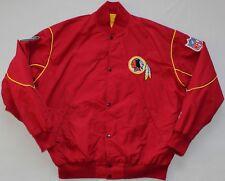 Cleveland Indians NFL Vintage Starter Pop Button Jacket - Large Size L - Red