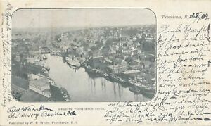 PROVIDENCE RI - Head of Providence River Private Mailing Card