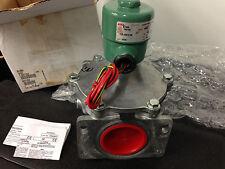"""ASCO Numatics Redhat 8214280 2"""" Gas Solenoid Valve 24 VDC GAS Shutoff Generator"""
