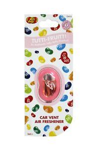Jelly Belly Car Air Freshener - Tutti Fruitti Vent Clip