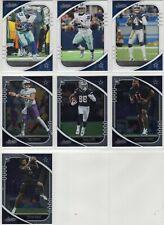 2020 Absolute Football Dallas Cowboys Team Set (7 Cards) CeeDee Lamb RC