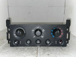 04 05 06 07 08 Pontiac Grand Prix Climate Control Unit OEM Switch Heated Seats