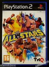 WWE ALL STARS jeu PS2 de catch pr console SONY SEGA PlayStation 2 complet testé