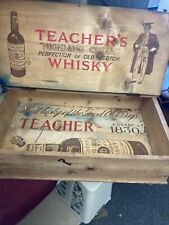 More details for old pine whisky box