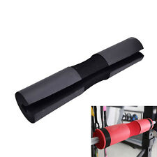 Barbell Pad Gel Supports Squat Bar Weight Lifting Neck Protect Pull Up Black HU