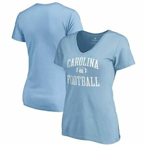 North Carolina Tar Heels Fanatics Branded Women's First Sprint V-Neck T-Shirt -