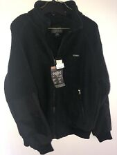 Black Filson Sherpa Polartec Fleece Jacket- Large