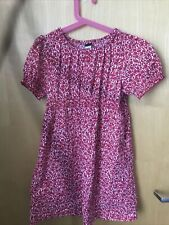 NWOT tea collection pink floral dress size 8