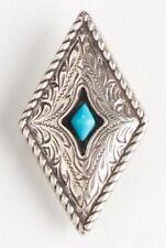Tandy Leather Prairie Dust Diamond Concho Screwback #7773-05