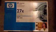 GENUINE HP C4127X 27X Black Toner Cartridge for LaserJet 4000 4050 New Sealed