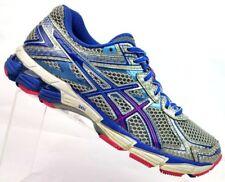 ASICS Silver/Blue GT-1000 Athletic Running Sneakers T3R5N Women's US 8 / EU 39.5