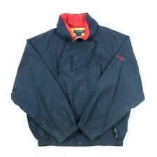 Vintage Nautica Impermeable chaqueta de vela   Abrigo para hombre L   Retro Lluvia Viento