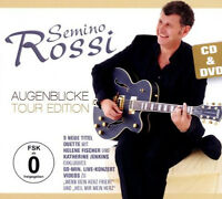 SEMINO ROSSI - AUGENBLICKE - TOUR EDITION - CD & DVD - NEU
