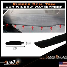 12ft Car Accessories Weather Stripping Rubber Seal Windshield Sunroof Edge Decor