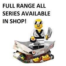 Lego Minifiguren Sushi Chef LEGO Ninjago Movie (71019) neue Fabrik Versiegelt