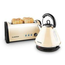 klarstein tea kettle toaster sets ebay. Black Bedroom Furniture Sets. Home Design Ideas