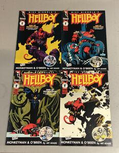 Hellboy: Seed of Destruction #1-4. Full Set