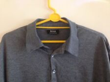 HUGO BOSS mens polo/casual shirt short sleeve size xl