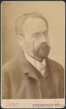 Original Emil Zola Writer Nadar Carte De Visite Photo
