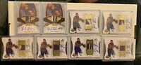 Jason Thompson RC Autograph/Patch Lot (Sacramento Kings) 17 cards!