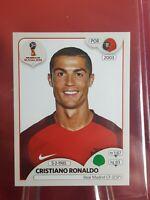 Cristiano Ronaldo Portugal World Cup 2018 Panini Sticker - Pink Back