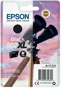 Original Epson 502XL Black Ink Cartridge T02W140 for XP-5100 XP-5105