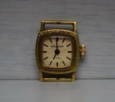 Vintage Miniature 17 Rubis Woman's Glashutte Glashütte GuB Wristwatch Watch