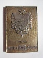 1966 RUSSIA / ESTONIA ,KALEV SPORT SOCIETY, BOXING PLAQUE MEDAL