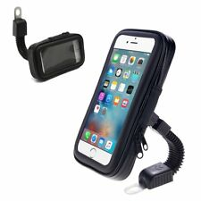 SUPPORTO STAFFA TELEFONO PER MOTO BORSA IMPERMEABILE ROTAZIONE 360 GRADI LINQ HD