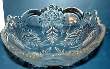 "McKee Rock Crystal Bowl EAPG 7 3/4"" circa 1908"
