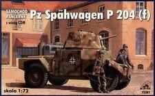 RPM 1/72 Pz. Spahwagen P 204 (f) with CDM Turret # 72301