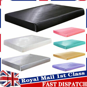 Blesiya Bed Fitted Sheet Single Double King Size Satin Silk Mattress Cover UK 1