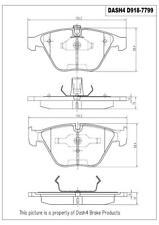 Disc Brake Pad Set-Sedan Front Dash 4 Brake CD918