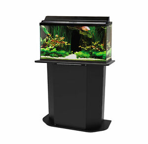 Deluxe 20/29-Gallon Aquarium Stand Large Tanks Foundation w/ Concealed Storage