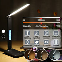 Table Light LED Desk Lamp With USB Charging Port Office Home Dimmable Lighting