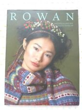 ROWAN magazine livre catalogue tricot automne/hiver n° 48 en FRANÇAIS TBEG