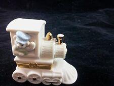 "Lenox ""All Aboard"" Treasure Train Lidded Keepsake Box with Charm First Issue Te"