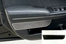 Door Panel Trim Badges w/ Carbon Fiber for 2011-2018 Dodge Charger