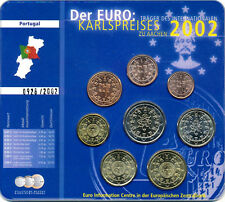 Kursmünzensatz KMS Portugal 2002 - vollständig, 8 Münzen (3,88 €) - bankfrisch