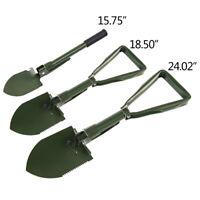 Portable Multi-functional Tactical Folding Shovel Camping  Garden Survival Spade