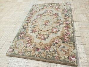 2x3 BRAND NEW CHINESE RUG AUBUSSON PEKING AUTHENTIC 100% WOOL ORIENTAL FINE